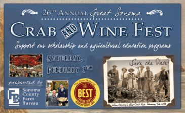 Sonoma County Crab & Wine Festival