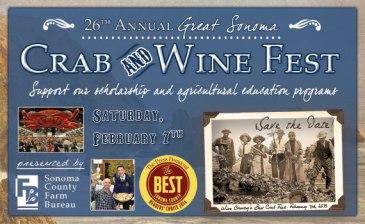 Sonoma County Crab & Wine Festival