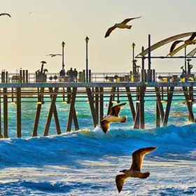 Redondo Beach, Pier  Boardwalk